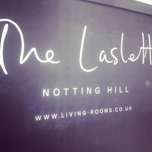 Exclusive sneak peek of @thelaslett #NottingHill #London #TheLaslett #SLH #newhotel #hotel #luxuryhotel #comingsoon