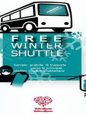 Free winter shuttle, skibus gratuito!
